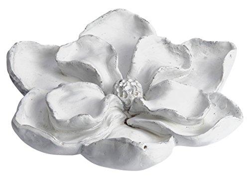 CHICCIE Décoration Murale en Forme de Fleur Blanc