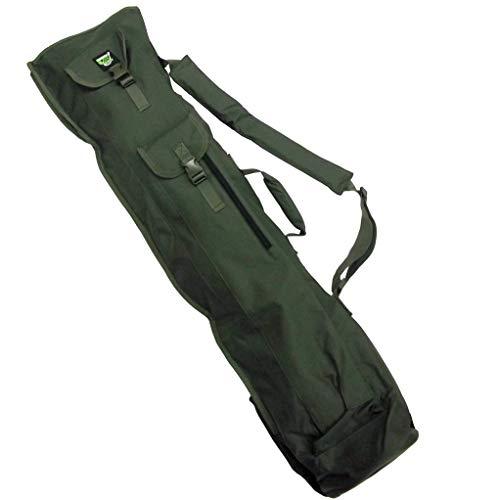 Carp On - Bolsa de pesca 600D VERDE 4 Cañas QUIVER SLING Slingling (120 x 33 cm) - Para llevar su equipaje de pesca - Uso en la orilla del río o en la orilla [27-2130]
