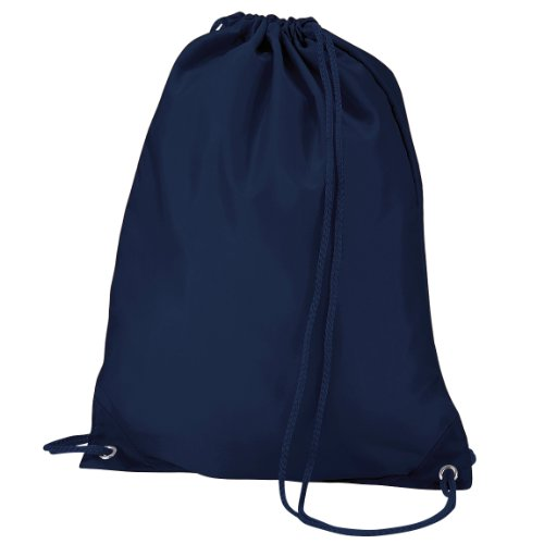 Quadra Sac de gym 7 litres (Taille unique) (Bleu marine)