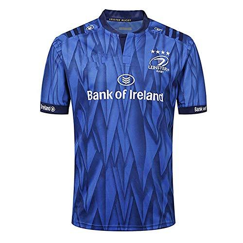 Camiseta de Rugby para Hombre, Camiseta de Rugby de edicin Conmemorativa de Leinster 2018, Camiseta de Polo cmoda de Manga Corta Deportiva de ftbol Transpirable para fanticos-Homecourt-M