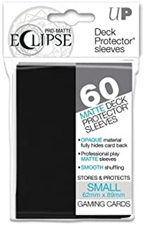 Ultra Pro Pro-Matte Eclipse Small Black (60 Sleeves) -85386