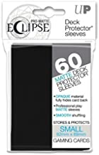 Ultra Pro- Pro-Matte Eclipse Black Small (60), Color Negro (85386)