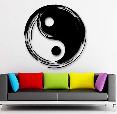 Tianpengyuanshuai Wandaufkleber Chinesischen Stil Vinyl Aufkleber Tai Chiquan Schlafzimmer Wohnzimmer einrichtungsgegenstände Haus Dekorationen 104,4X198 cm