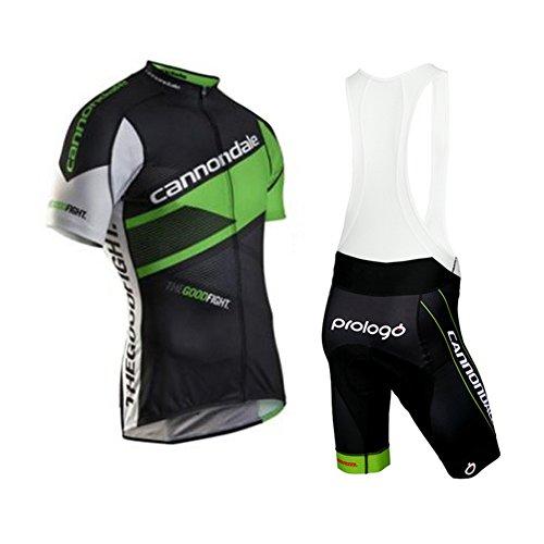Strgao 2016 Herren Pro Rennen Team Cannondale MTB Radbekleidung Radtrikot Kurzarm und Tr?gerhose Anzug Bib Shorts Suit