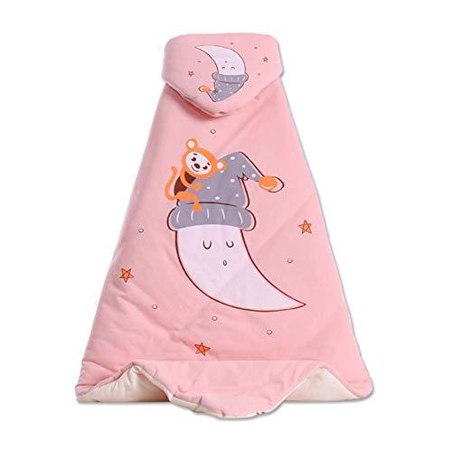 JUYOU Autunno addormentato del bambino e trapunta neonata per modelli invernali, trapunta per bambini in morbido cotone colorato pettinato speciale, coperta in cotone per bambini