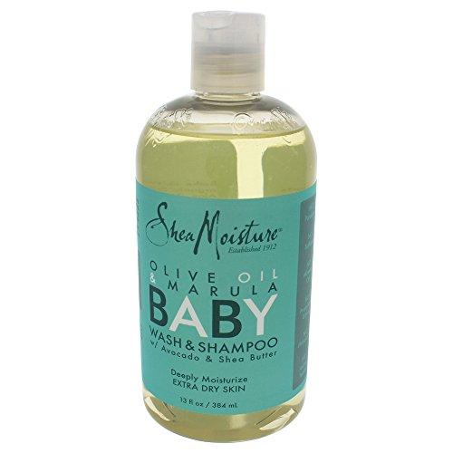 Champú para niños Shea Moisture, aceite de oliva y marula, 13 onzas