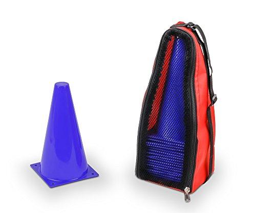 Vinex 20 Markierungshütchen mit Tragetasche, blau