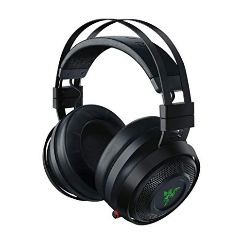 Razer Nari Ultimate - Casque Gamer Sans Fil avec Razer HyperSense, THX Spatial Audio 360°, Coussin de Gel Rafraîchissant & RGB Chroma pour PC, PS4