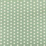 Silber Grau Weiß gepunktet Muster Print Velours Samt