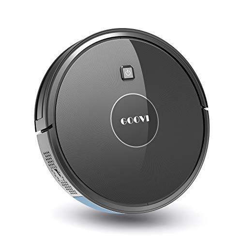 Robot Vacuum,1600PA Robotic Vacuum Cleaner with Self-Charging,360° Smart Sensor Protection,Multiple Cleaning Modes Vacuum Best for Pet Hairs,Hard Floor & Medium Carpet