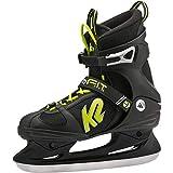K2 Herren Eishockeyschuh-Complete F.I.T. Speeed Ice 9, 5 Schlittschuhe, schwarz/Grün, 9.5