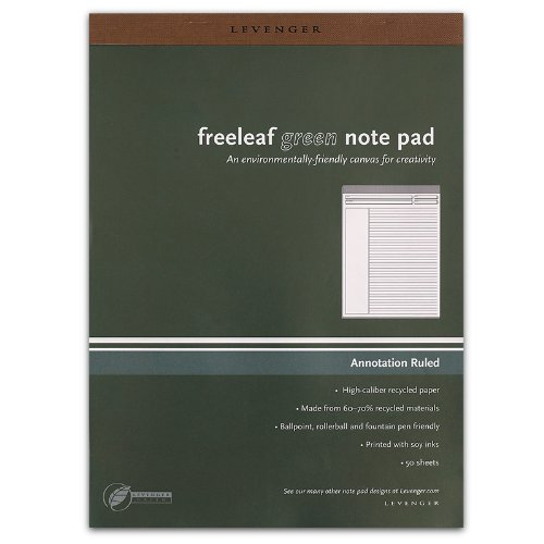 Levenger Freeleaf Recycled Annotation Ruled Pads, Letter(5) (ADS5510) Photo #2