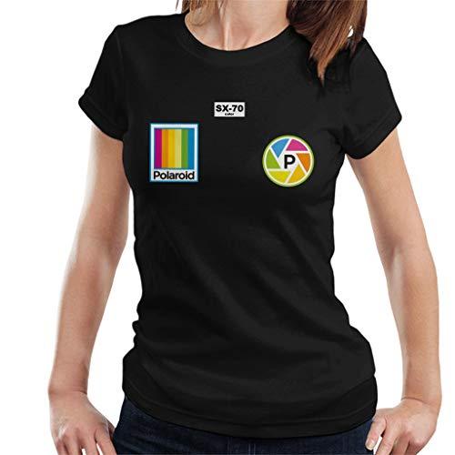 Polaroid Logo Badges Women's T-Shirt