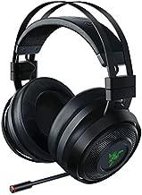 Razer Nari Ultimate Wireless 7.1 Surround Sound Gaming Headset: THX Audio & Haptic Feedback - Auto-Adjust Headband - Chroma RGB - Retractable Mic - For PC, PS4, PS5 - Black