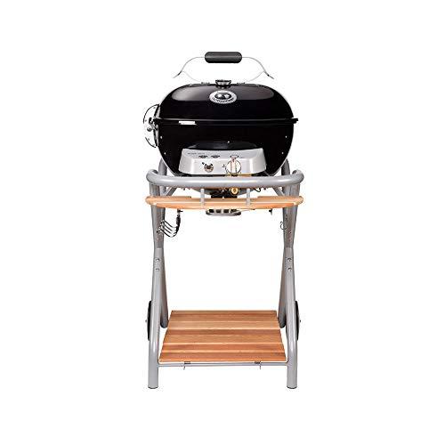 Barbecue sferico in acciaio grill da Giardino Esterno OUTDOORCHEF modello AMBRI 480 G BLACK, funziona a gas