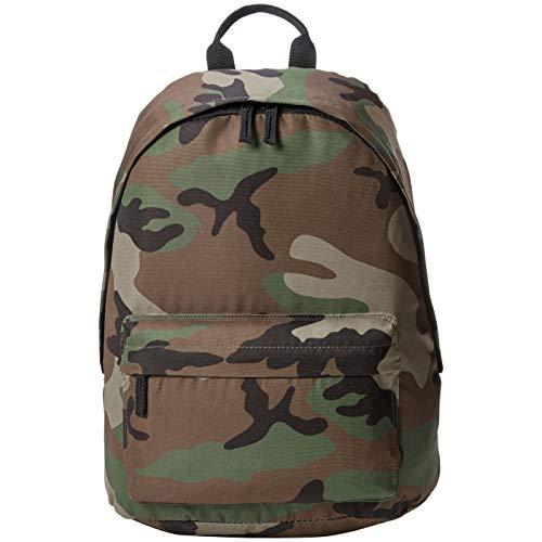 AmazonBasics - Rucksack für den Alltag - Grüne Camouflage