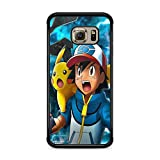 Coque pour Samsung Galaxy S8 Plus (Grand Ecran) Pokemon go Team Pokedex Pikachu Manga Tortank Game Boy Color Salameche Noctali Valor Mystic Instinct Case + Stylet + Lingette de Nettoyage Ecran 16