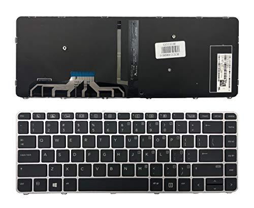 Tastatur für HP EliteBook Folio 1040 G3 844423-001 mit Hintergr&beleuchtung