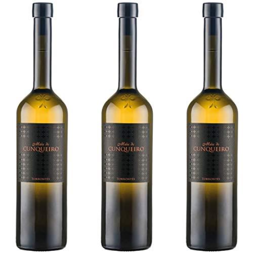 Máis De Cunqueiro Vino Blanco - 3 botellas x 750ml - total: 2250 ml