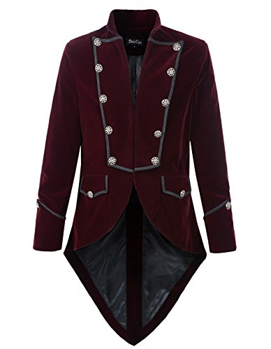 steampunk long coat women