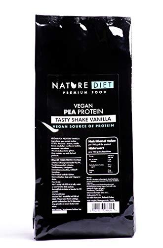 Nature Diet - Batido vegano de proteína de guisantes, vainilla