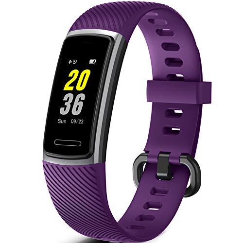 Letsfit Fitness Tracker, Schrittzähler Uhr, Wasserdicht IP68 Aktivitätstracker mit Pulsmesser, Fitness Armband pulsuhr Smartwatch für Kinder Damen Herren iOS Android Kompatibel
