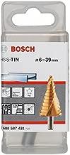 Bosch 2 608 587 431 - Brocas escalonadas HSS-TiN - 6-39 mm, 10,0 mm, 93,5 mm (pack de 1)