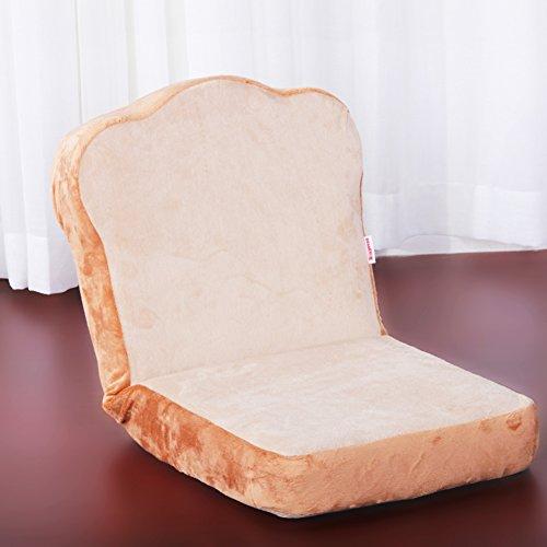 JiaQi Mini Faules Sofa,Einzelnen Tatami-matten,Schöne Folding Wohnheim Zimmer Schlafsofa Schlafzimmer Kleines Sofa-Beige
