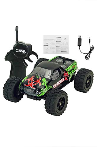 Remote Control Truck Rechargeable ,2.4G .9115M 2WD Double Motors 4CH RC Car Off Road ,Indoor, Drifting, Moves Forward, Backward,Left & Right . for Kids and Adults.