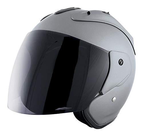 Stormer, motorradhelm SUN EVO Nardo grau, XL