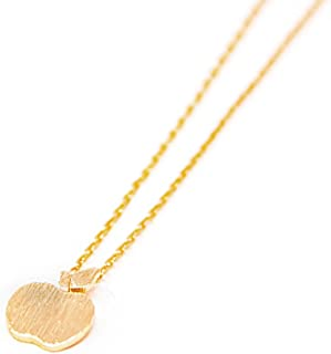 Best gold apple necklace Reviews