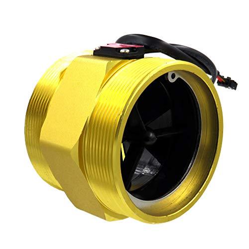 """DIGITEN G3"""" 3 inch Water Flow Sensor Turbine Flow Meter Counter Hall Sensor Meter Flowmeter 30-500L/min"""