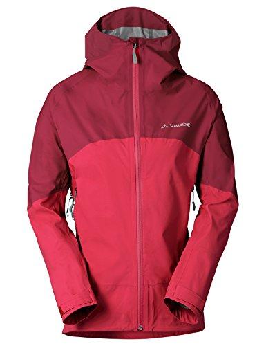 VAUDE Damen Women's Croz 3L Jacket II Jacke, Strawberry, 34