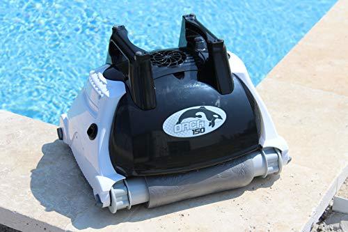Orca 105998 - Robot limpiador automático para piscina, fondo y pared, color...