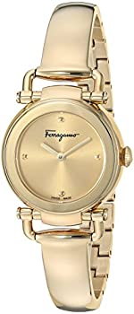 Salvatore Ferragamo Gancino Champagne Dial Ladies Watch