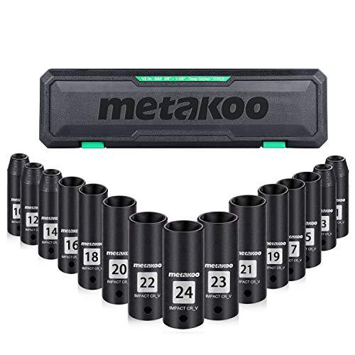"""1//2/"""" disque shallow socket tailles de 10-32mm métrique 6 standard hex point finder"""