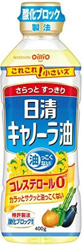 日清キャノーラ油 400g×10個