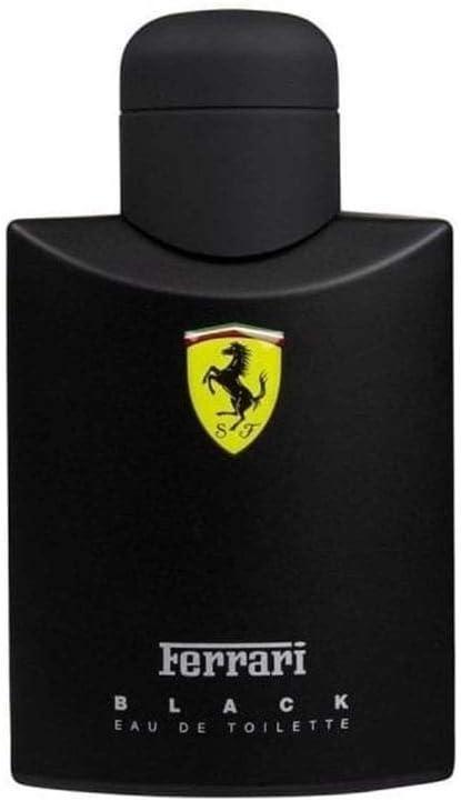 Ferrari Scuderia Black Homme Men Eau De Toilette Vaporisateur Spray 125 Ml 1er Pack 1 X 125 Ml Ferrari Amazon De Beauty