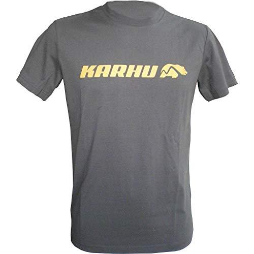 KARHU T-Promo 2 Camiseta, Unisex Adulto, Gris, S