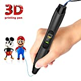 3D Pen,Classic Version 3D Pen SL-300 Supports PLA & ABS Filaments with Speed