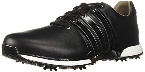adidas Men's TOUR360 XT Golf Shoe, core Black/core Black/Silver Metallic, 7 M US