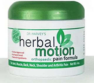 Dr. Harvey's Herbal Motion Orthopedic Pain Formula for Fast Relief of Muscle, Joint, Back and Neck Pain