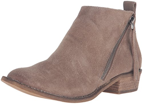 Dolce Vita Women's Sibil Ankle Bootie, Dark Taupe, 6 M US