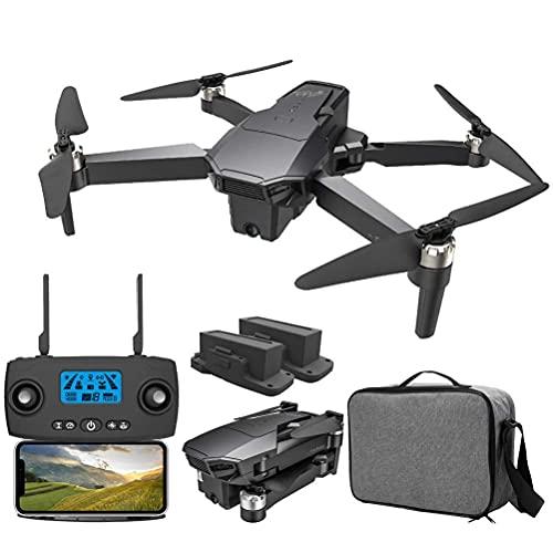 Drone con Doppia Fotocamera 4K per Adulti, Trasmissione FPV GPS Drone 5G WiFi, con Motore brushless, Distanza di Controllo 1500M, Trasmissione Immagini 1200M, Supporto Esperienza VR 3D