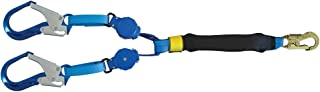 Tractel C0527Y/1 Tracpac Self-Retracting Lanyard with Two Arms, 3/4