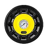 CLDZ-Hefter Elektrische Luftkompressor Tragkraftspritze Gummireifen 12v 100PSI mit Manometer für Reifen Luftmatratze Bälle