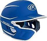 Rawlings Mach EXT Casco de bateo, azul real, bateador zurdo, MACHEXTL-R7/W7-SR