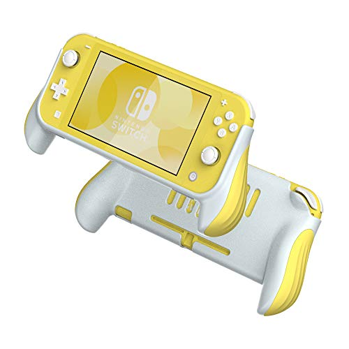 Grip Case for Nintendo Switch Lite,Hand Grips Handles Ergonomic Protective Case,Accessories Compatible with Nintendo Switch Lite (Yellow)