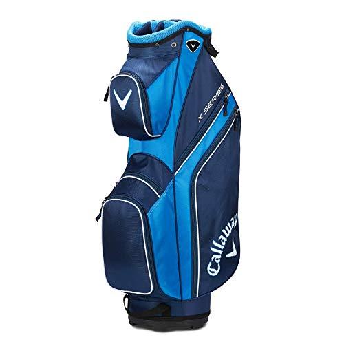 Callaway 2019 X-Series - Borsa da golf, Uomo, 5119281, Blu (Navy/ Royal Blue/White), Taglia unica