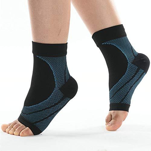 Heel Cover, Arch Support, Fersensporn Pflege Compression Knöchel Unterstützung Socken, Fersenschutz für Männer und Frauen, Knöchel-Unterstützung